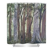Forest Spring Shower Curtain