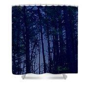 Forest Starlight Shower Curtain