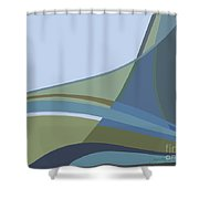 Forest View Shower Curtain