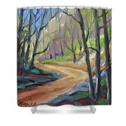 Forest Way Shower Curtain