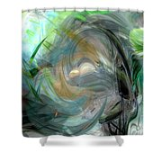 Forest Wind Shower Curtain