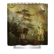 Forest Wonderland Shower Curtain
