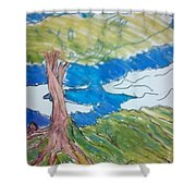 Forestree Shower Curtain