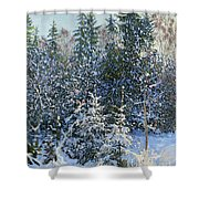Forest's Fairy-tale. Shower Curtain