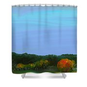 Foret Automnale Shower Curtain