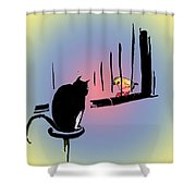 Forever Apart Shower Curtain