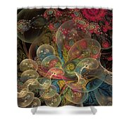 Forever Blowing Bubbles Shower Curtain