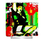 Forever Pinup I Shower Curtain