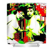 Forever Pinup II Shower Curtain
