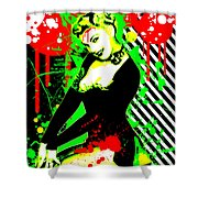 Forever Pinup IIi Shower Curtain