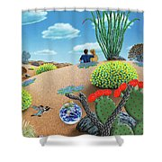 Forever Yours Shower Curtain