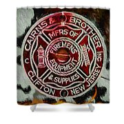 Forged In Fire - Cairns - Oil Shower Curtain