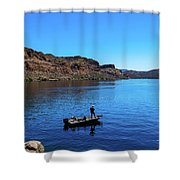 Forget About Time Shower Curtain