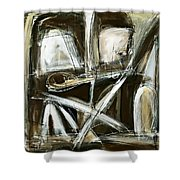Forging Relations Shower Curtain