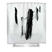 Forgotten #11 Shower Curtain