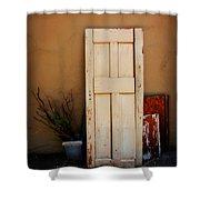 Forgotten Door Shower Curtain