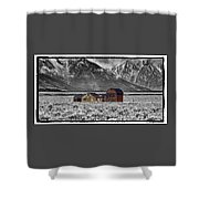 Forgotten Homestead Shower Curtain