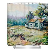 Forgotten Places II Shower Curtain