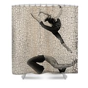 Forgotten Romance 5 Shower Curtain by Naxart Studio