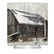 Forgotten Treasures Shower Curtain by Stephanie Calhoun