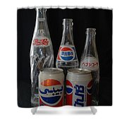 Foriegn Colas Shower Curtain
