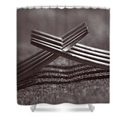 Forking Shower Curtain