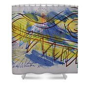 Form View 36 Shower Curtain