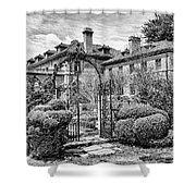 Formal Gardens Shower Curtain