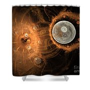 Formation Of New Planets Shower Curtain