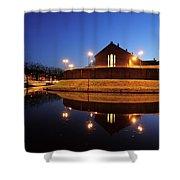 Former Prison Wolvenplein In Utrecht In The Evening 20 Shower Curtain