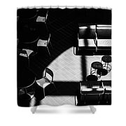Formiture Shower Curtain by Eric Lake
