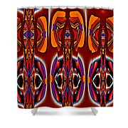 Forms 24 Shower Curtain