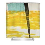 Forms Through Dawn Clouds Shower Curtain