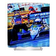 Formula 1 Race Shower Curtain