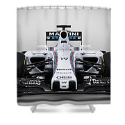 Formula 1 Williams Fw37 Shower Curtain