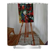 Forrest Colors Shower Curtain