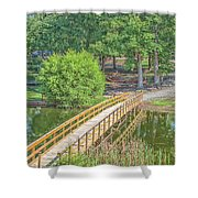Forrest Lakes Shower Curtain