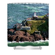 Fort Amherst At St. Johns New Foundland Shower Curtain