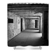 Fort Casey 3925 Shower Curtain
