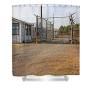 Fort Chaffee Prison Shower Curtain