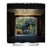 Fort Clinch Portal Shower Curtain