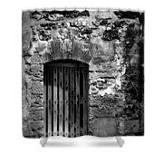 Fort Doorway Shower Curtain