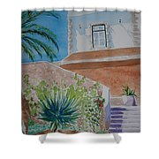 Fort Entrance Shower Curtain
