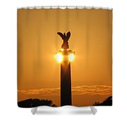 Fort Fisher North Carolina Shower Curtain