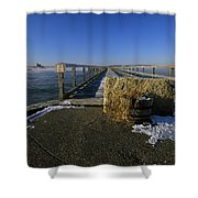 Fort Foster - Kittery Maine Usa Shower Curtain