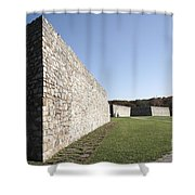 Fort Frederick In Maryland Shower Curtain