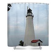 Fort Gratiot Shower Curtain