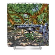 Fort Harrod Cannon Shower Curtain