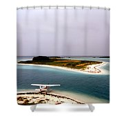 Fort Jefferson Photograph Shower Curtain