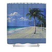 Fort Lauderdale Beach Shower Curtain